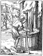 Washtub Prints - DYER, 16th CENTURY Print by Granger