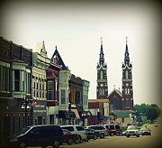 Francis Prints - Dyersville in Iowa Print by Susanne Van Hulst