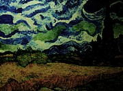 Michael Kulick Art - Dying Van Gogh by Michael Kulick