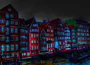 Dyke Road  -  Hamburg Print by EricaMaxine  Price
