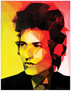 Bob Dylan Digital Art - Dylan by Enrico Varrasso