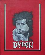 Bob Dylan Art - Dylan by Jimmy  Ovadia