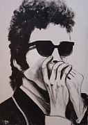Bob Dylan Paintings - Dylan by Pete Maier