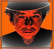 Bob Dylan Art - Dylan Sixty Eight by Gabe Art Inc