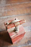Dynamite Detonator Box. Plunger Handle Print by Bryan Mullennix