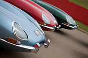 Jaguar E Type Photos - E-Types by Charlotte Moss