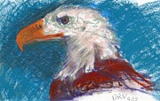 Eagle Drawing Mixed Media - Eagle 2 by Dean Vanhorn