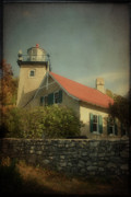 Wood - Eagle Bluff Lighthouse by Joel Witmeyer