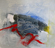 Red White And Blue Mixed Media - Eagle by Cliff Spohn