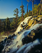 Eagle Falls Lake Tahoe Print by Vance Fox
