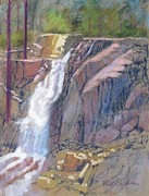 Eagle Pastels Metal Prints - Eagle Falls Metal Print by Reif Erickson