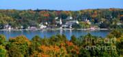 Eagle Harbor And Ephraim - Door County Print by Sandra Bronstein