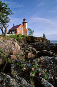 Shipping Posters - Eagle Harbor Lighthouse - FS000623 Poster by Daniel Dempster