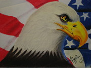 Bird Pastels - Eagle by Lionel Crenshaw