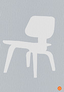 Midcentury Prints - Eames Plywood Chair Print by Irina  March