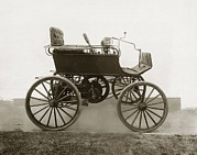 Black Commerce Art - Early Car, 1896 Oldsmobile by Miriam And Ira D. Wallach Division Of Art, Prints And Photographsnew York Public Library