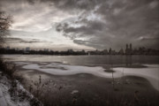 Panoramas - Early Evening Central Park in Winter by Robert Ullmann