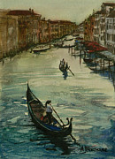 Early Drawings Prints - Early Evening in Venice  Print by Tony Northover