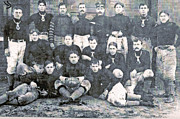 Family Member Framed Prints - Early football  Framed Print by GL Coomer