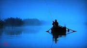 Hera Photos - Early Morning Fishing  by Colette Hera  Guggenheim