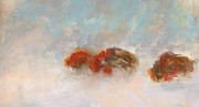 Bison Art - Early Morning Herd by Frances Marino