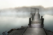 Tamyra Ayles Prints - Early Morning Pier Print by Tamyra Ayles