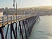 San Clemente Prints - Early Morning Print by Traci Lehman