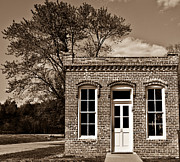 Arkansas Prints - Early Office Building Print by Douglas Barnett