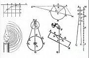 Ebb And Flow Prints - Early Physics Diagrams Print by Science Source