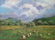 Arkansas Pastels Originals - Early Summer Cutting by Marlene Gremillion