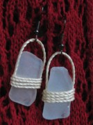 Sea Jewelry - Earrings 1 by Lorna Diwata Fernandez
