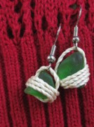 Sea Jewelry - Earrings 3 by Lorna Diwata Fernandez