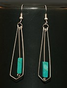 Wire Wrap Jewelry - Earrings by Alicia Short