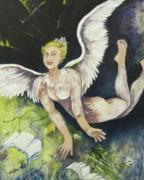 Earth Angel Print by Georgia Annwell