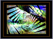 Fractal Presets Metal Prints - Earth Changes Metal Print by Rebecca Phillips