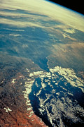 Earth Observation Framed Prints - Earth Framed Print by Nasa