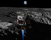 Moon Digital Art - Earthrise by David Robinson