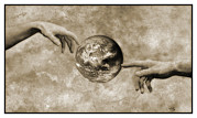 Creationism Photo Posters - Earths Creation Poster by Detlev Van Ravenswaay