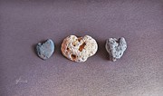 Heart Stone Art - Earths Hearts by Elena Kolotusha