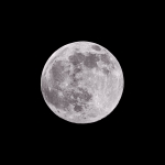 Full Moon Prints - Earths Moon Print by Steve Gadomski