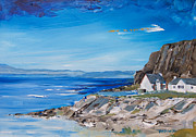 Quarry Paintings - Easdale by Peter Tarrant