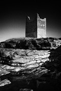 Abandonded Photos - Easkey Roslee Roslea Castle County Sligo Ireland by Joe Fox
