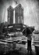 Crosswalk Framed Prints - East Asian Monsoon Framed Print by Ioannis Lelakis