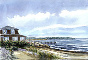 Vineyard Haven Prints - East Beach Print by Paul Gardner