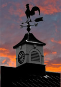 Weathervane Photo Prints - East by South Print by Brian Roscorla