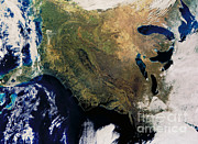 Featured Art - East Coast by Nasa