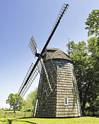 Hamptons Photos - East Hampton Windmill by Tim Doubrava