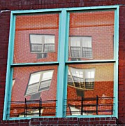 Barrio Framed Prints - East Harlem Windows 2 Framed Print by Sarah Loft
