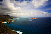 Your Home Prints - East Oahu Coastline Print by Cheryl Young