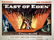1955 Movies Posters - East Of Eden, James Dean, Lois Smith Poster by Everett
